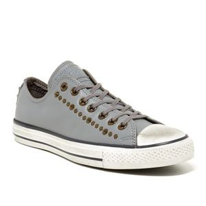 Converse All Star Studded Unisex Leather Sneakers